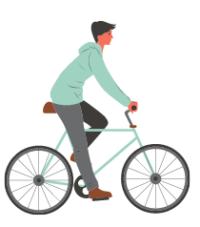 16h15-17h30, balade cycliste